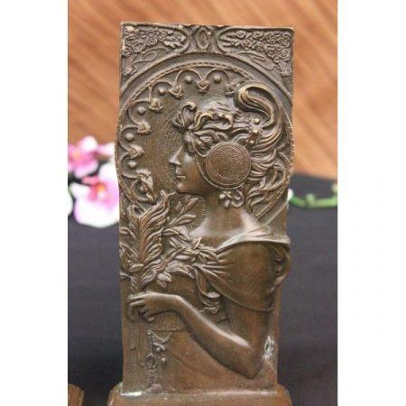 Bronz relief dombormű II.