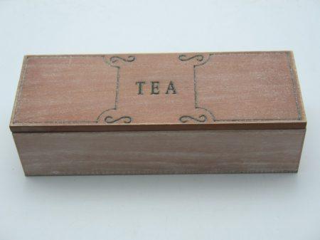 Vintage teatartó doboz