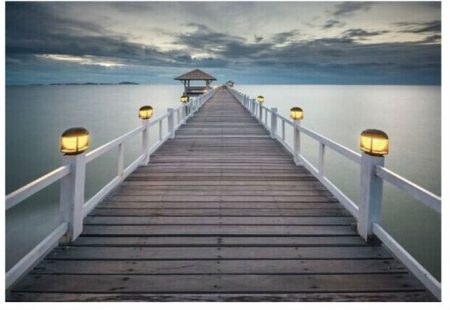 Tengerparti világító kép