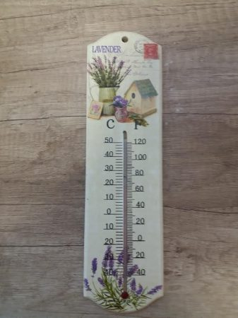 Levendulás hőmérő II.