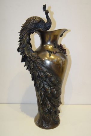 Pávás váza