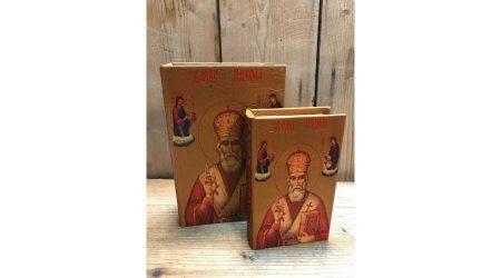 St. Nikolas könyv doboz 2 db