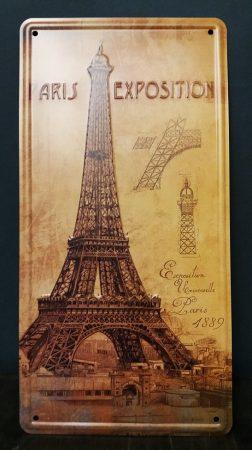 fém kép /Eiffel torony/
