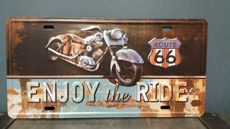 fém kép Route 66