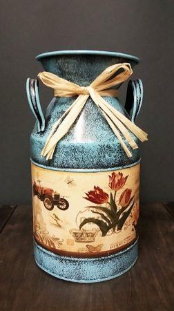 Vintage fém váza
