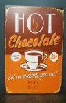 Fém kép / forró csokokádé/
