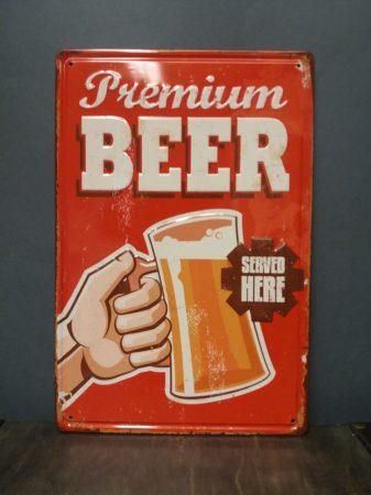 Fém kép/ beer/
