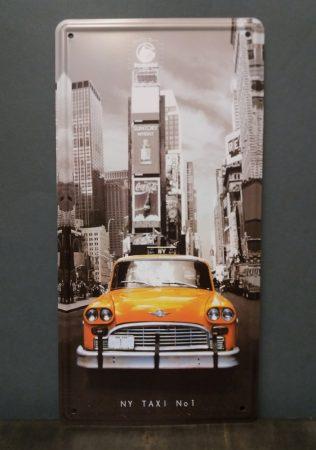 Fém kép /taxi/ 30x16cm