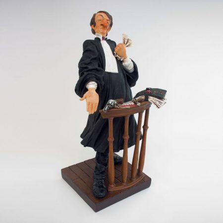 Ügyvéd /Forchino-karikatura-szobor/