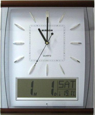 Falióra /hőmérséklet,dátum/
