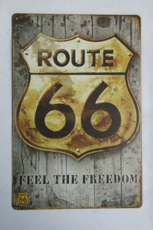 Route 66 fém kép
