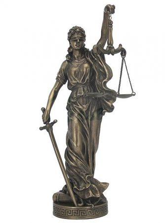 Justitia szobor /nem rendelhető!/