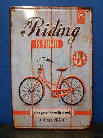 fém kép kerékpár