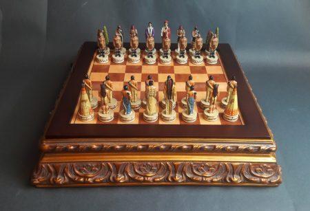 Amerikai indián sakk készlet