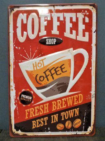fém kép coffee
