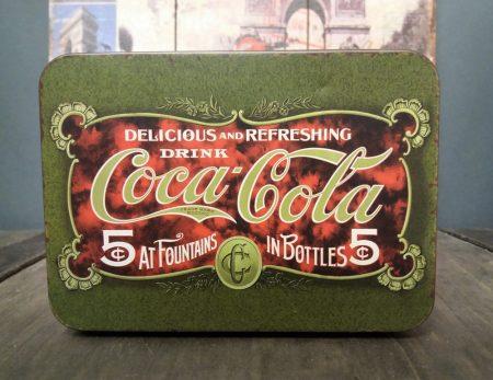 Coca cola fém doboz