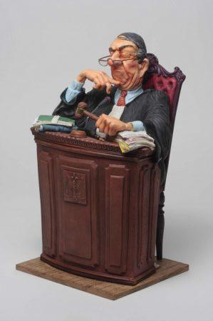 Bíró Forchino karikatúra szobor