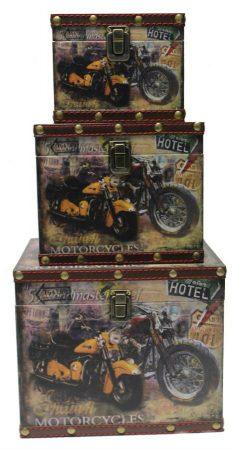 Motoros doboz 3 darab