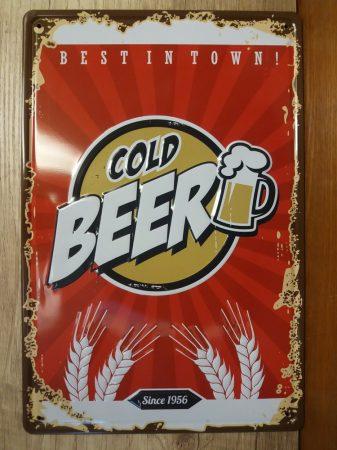 fém kép: Cold beer 1956