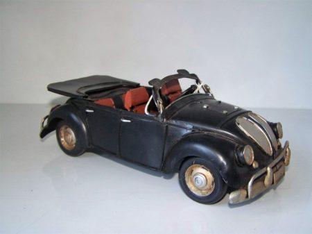 Volkswagen bogár fém autó 2