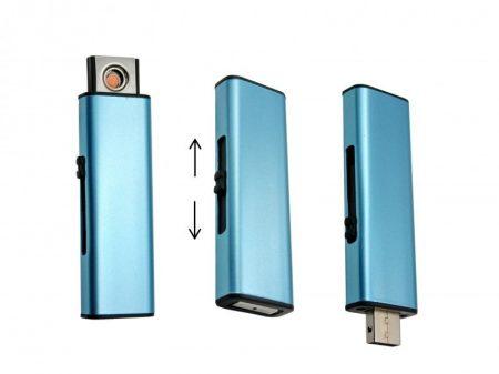 Kék elektromos öngyújtó