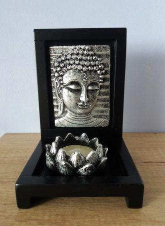 Buddha mécsestartó 2