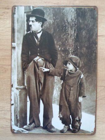 fém kép Chaplin