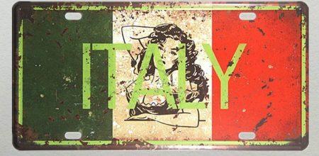 Fém kép Italy