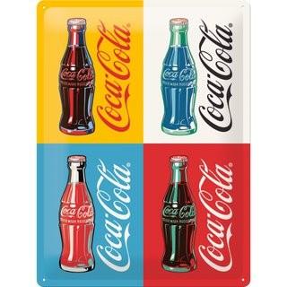 Fém kép Coca Cola Pop art