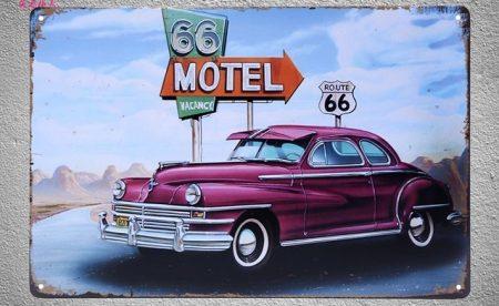fém kép: 66 motel