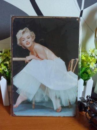 Fém kép: Marilyn Monroe