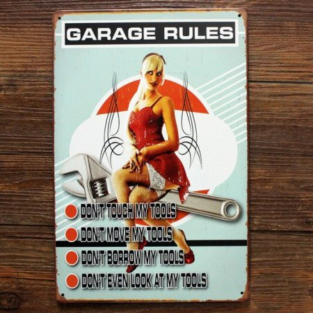 fém kép : garage rules