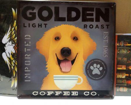 fém kép: golden coffe