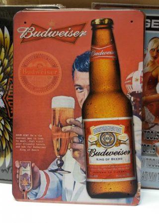 fém kép : Budweiser