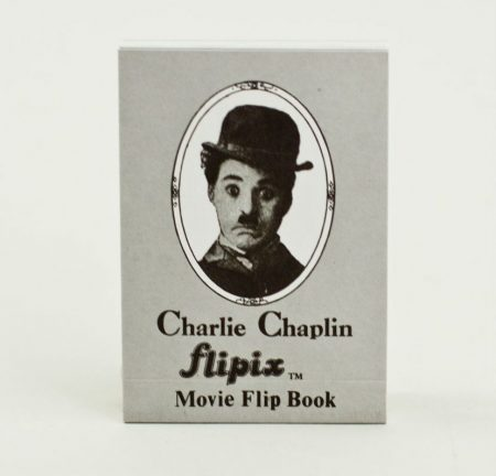 """Chaplin """"mozgó"""" kis könyv"""