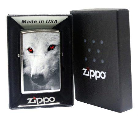 Zippo öngyújtó / farkas/