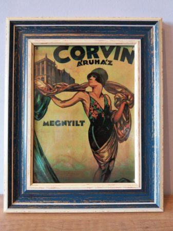 Corvin kép keretben