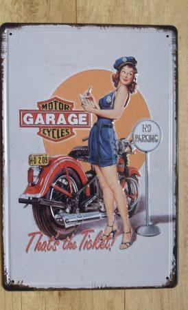 fém kép: motor garage