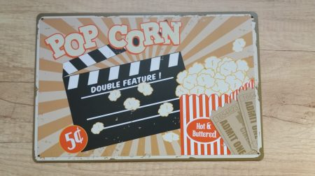 fém kép: pop corn