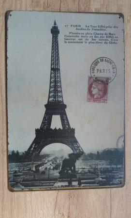 fém kép: Parizs