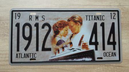 fém kép Titanic