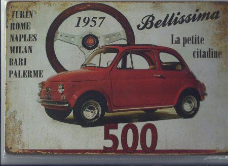 fém kép :fiat 500 /1957/