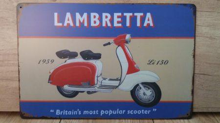 Fém kép :Lambretta