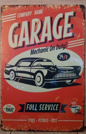 fém kép :Garage