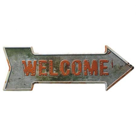 Fém kép :Welcome