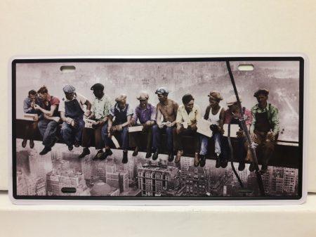 fém kép: New York munkások
