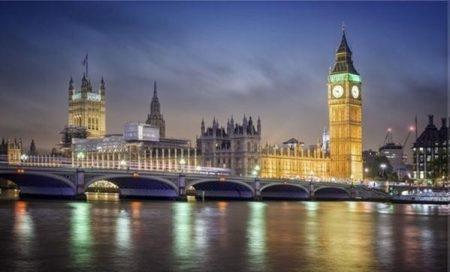 Világító kép London