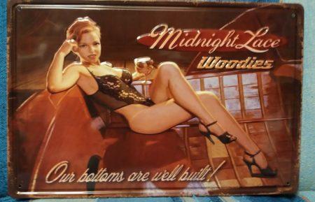 fém kép Midnight lace