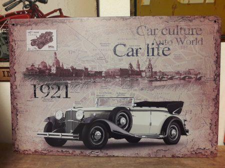 fém kép: old car