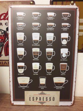 fém kép: coffee ,espresso